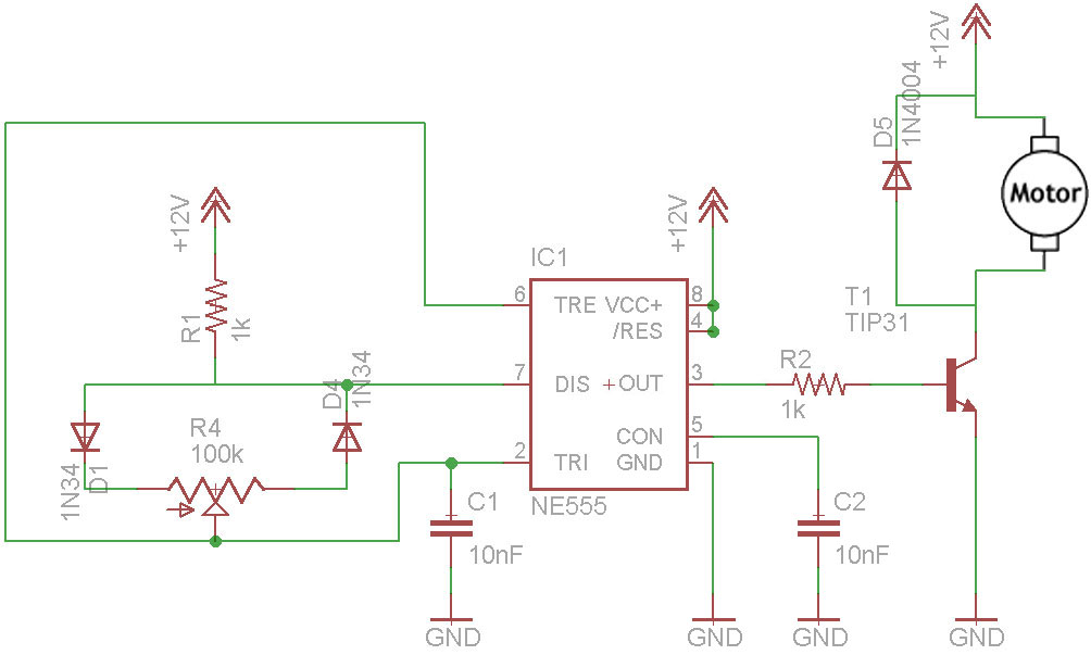 What is pwm pulse width modulation tutorial in hd for Motor control circuit tutorial