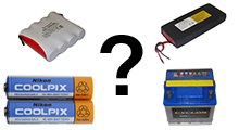 How to choose a battery