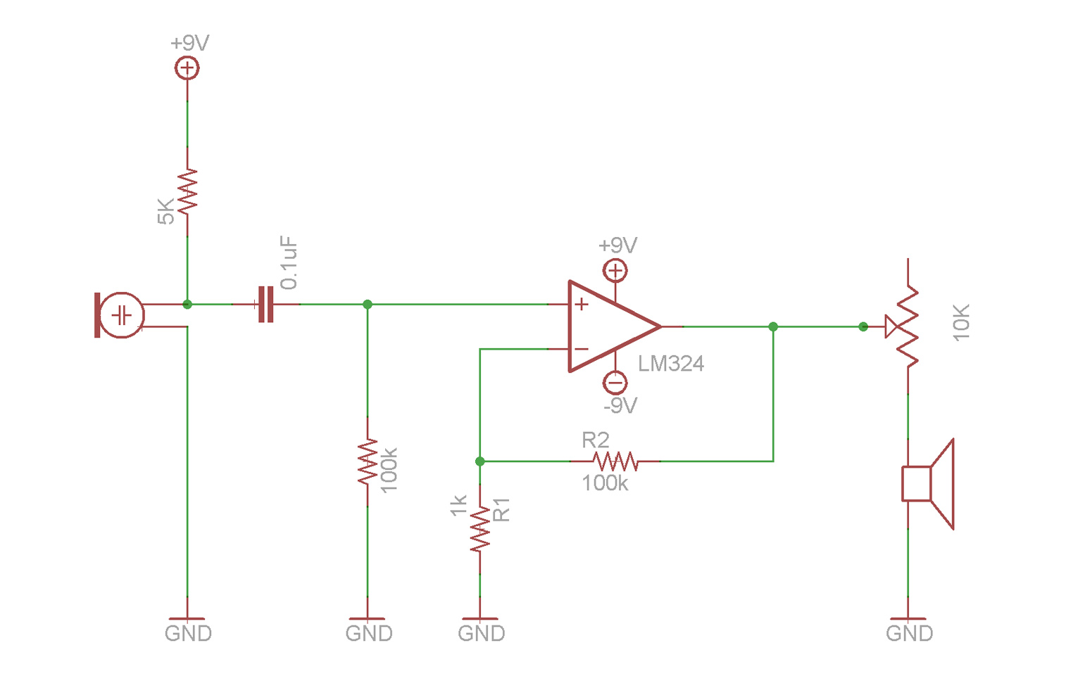 Operational Amplifier Tutorial Video In High Def Op Amp Diagram Microphone Circuit